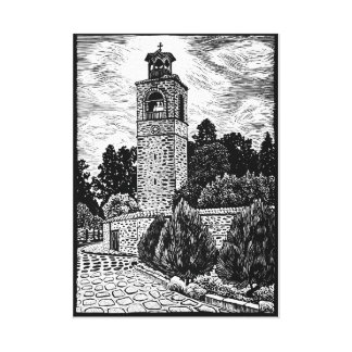 Belfry Canvas Print