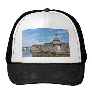 Belfry of Ville Close of Concarneau in France Trucker Hat