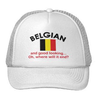 Belga apuesto gorros