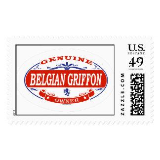 Belga Griffon Sellos