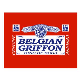 Belga Griffon Tarjetas Postales