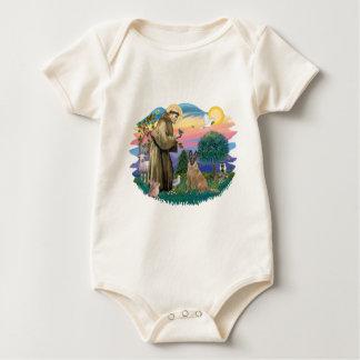 Belga Malanois Mamelucos De Bebé
