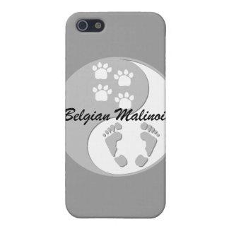 belga Malinois de yang del yin iPhone 5 Fundas
