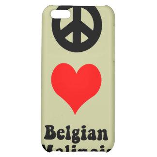 Belga Malinois del amor de la paz