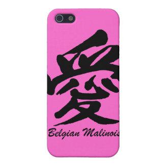 belga Malinois del amor iPhone 5 Cárcasas