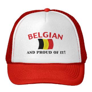Belga orgulloso gorro