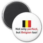 Belga perfecto imán de frigorífico