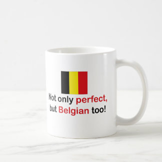 Belga perfecto taza clásica