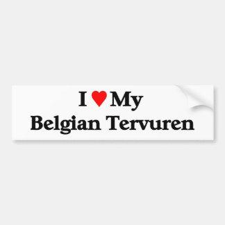 Belga Tervuren Pegatina Para Auto