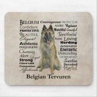 Belga Tervuren Mousepad