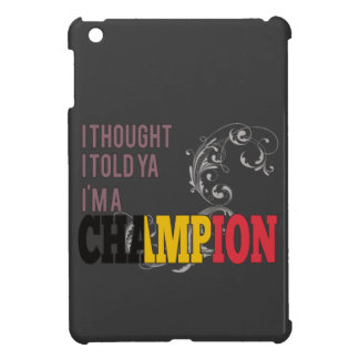 Belga y un campeón