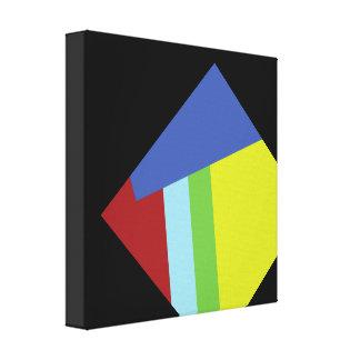 Belgian Abstract Art Design Canvas Print