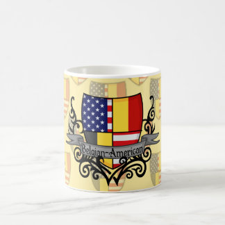 Belgian-American Shield Flag Coffee Mug