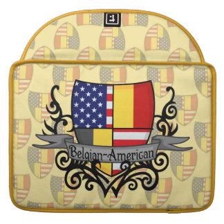 Belgian-American Shield Flag MacBook Pro Sleeve