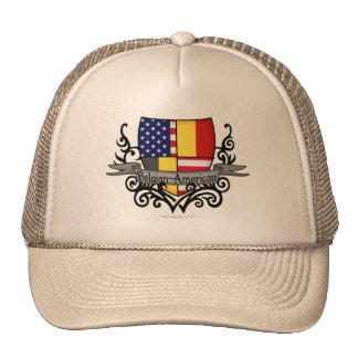 Belgian-American Shield Flag Trucker Hat