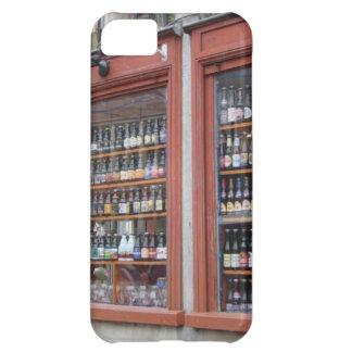 Belgian Beer Display in Ghent shop window Cover For iPhone 5C