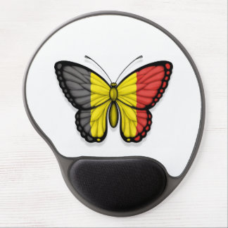 Belgian Butterfly Flag Gel Mousepads