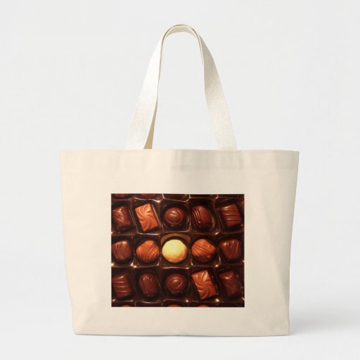 BELGIAN CHOCOLATES CANVAS BAGS