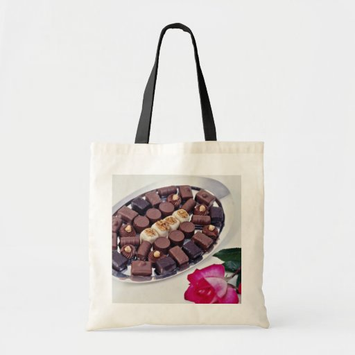 Belgian chocolates  flowers bags