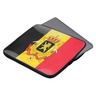 Belgian Coat of arms Laptop Sleeve
