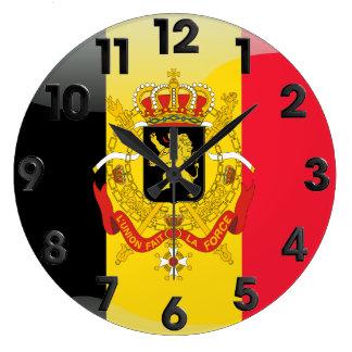 Belgian Coat of arms Large Clock