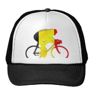 Belgian Cyclists from Belgium Bicyle Gear Trucker Hat