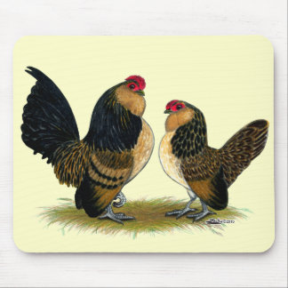 Belgian d'Anvers Bantams:  Quail Mouse Pad