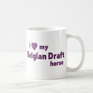 Belgian Draft horse Coffee Mug