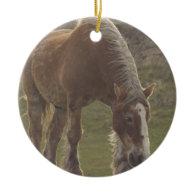 Belgian Draft Horse Ornament