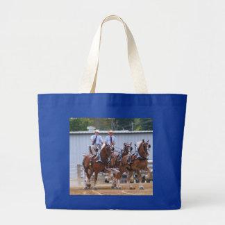 Belgian Draft Horses Bags