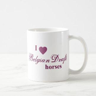 Belgian Draft horses Coffee Mug