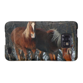 Belgian Draft Horses Samsung Galaxy Case Samsung Galaxy SII Case