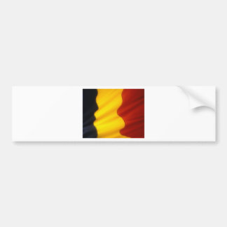 Belgian Flag Bumper Sticker