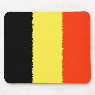 Belgian Flag Mouse Pad