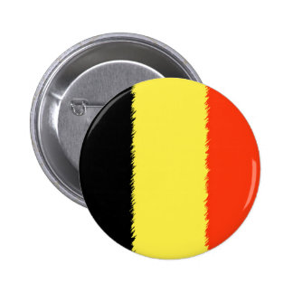 Belgian Flag Pinback Button