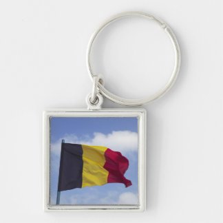 Belgian flag RF) Keychain