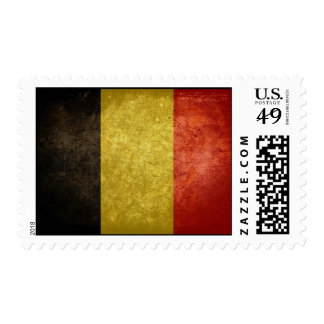 Belgian Flag Stamp