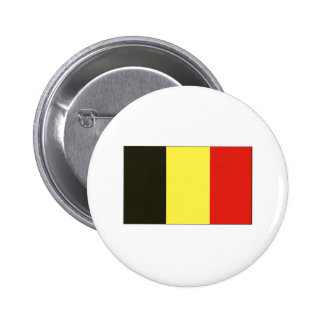 Belgian Flag T-shirts and Gifts Pinback Button