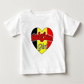Belgian Girl Baby T-Shirt
