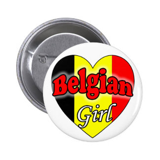 Belgian Girl Button