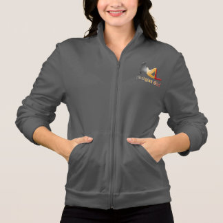 Belgian Girl Silhouette Flag Jacket