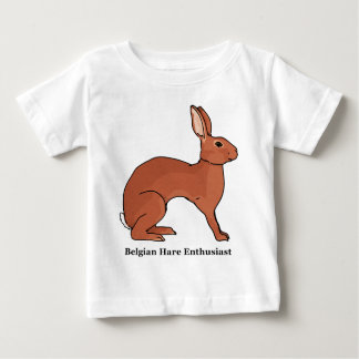 Belgian Hare Enthusiast Infant T-shirt