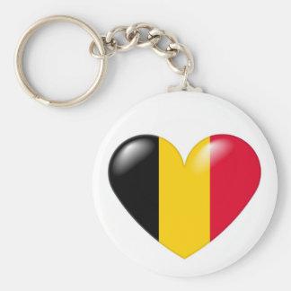 Belgian heart keychain - Coeur belge