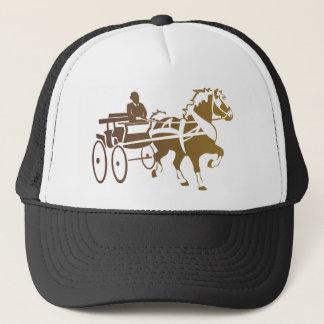 Belgian Horse Driving Trucker Hat