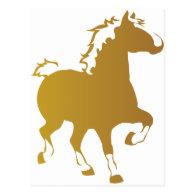 Belgian Horse Postcard
