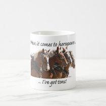 Belgian Horse Power Coffee Mug