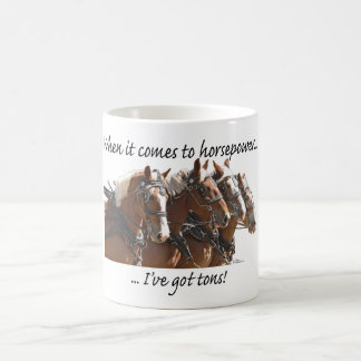 Belgian Horse Power Coffee Mug