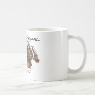Belgian Horse Power Coffee Mugs
