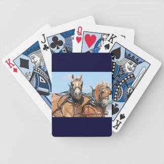 Belgian Horses Bicycle Card Deck