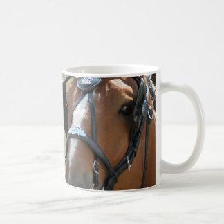 Belgian in harness mug